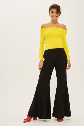 Topshop flare trousers