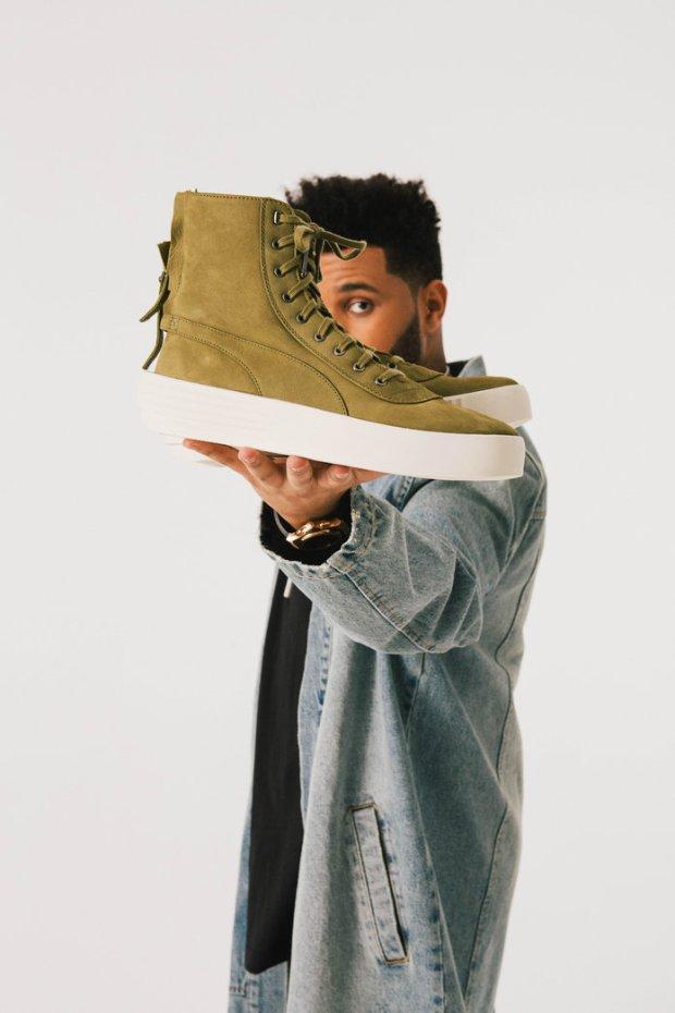 Footwear News photoshoot